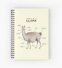 Anatomy of a Llama Spiral Notebook