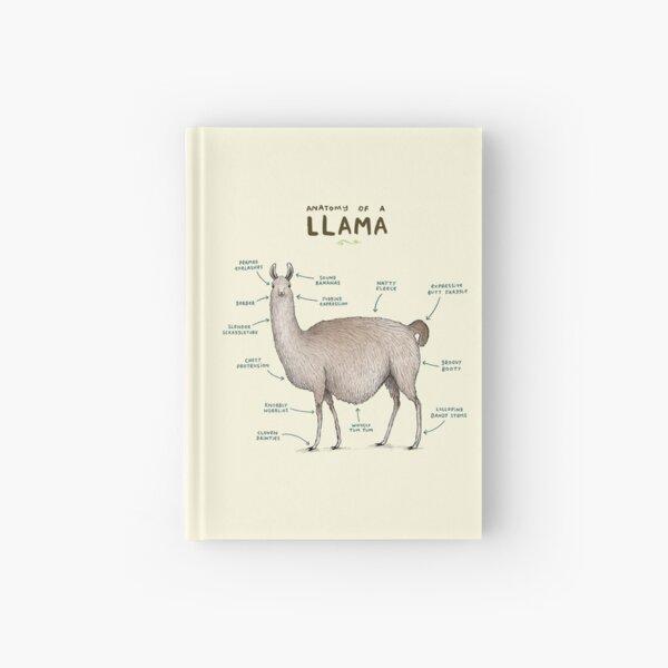 Anatomie eines Lama Notizbuch