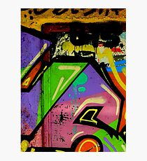 Graffiti wall art Photographic Print