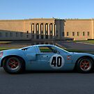 1968 Ford GT40 Gulf Mirage Coupe by TeeMack