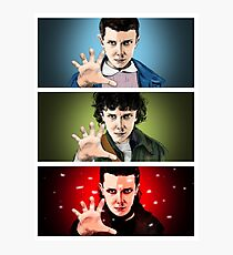 Eleven Stranger Things Photographic Print