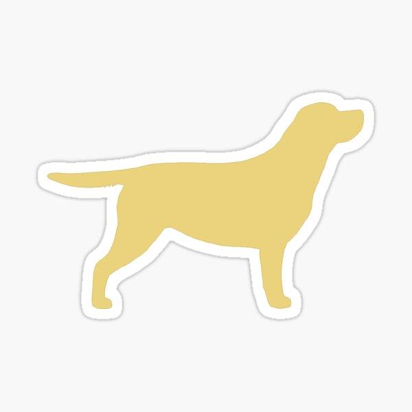 Labrador Retriever (Yellow) Sticker