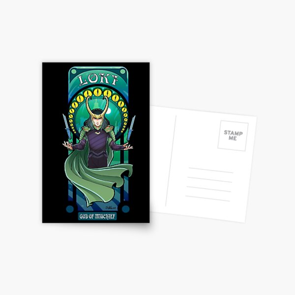 Mischief in Battle! Postcard