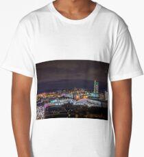 Leeds Skyline and the Dalek!  Long T-Shirt