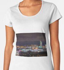 Leeds Skyline and the Dalek!  Women's Premium T-Shirt