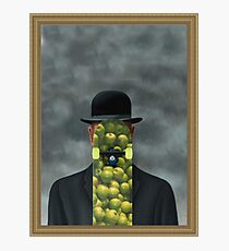Magritte was a skater Photographic Print
