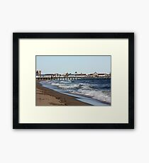 Old Orchard Beach, Maine Framed Print