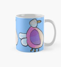 Pretty Plump Pigeon Mug