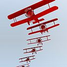 Retro Biplane by Packrat