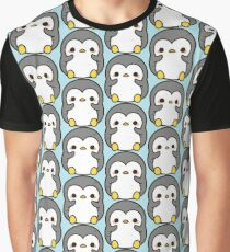 Shy penguin Graphic T-Shirt