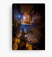 Enter The Back Passage Canvas Print