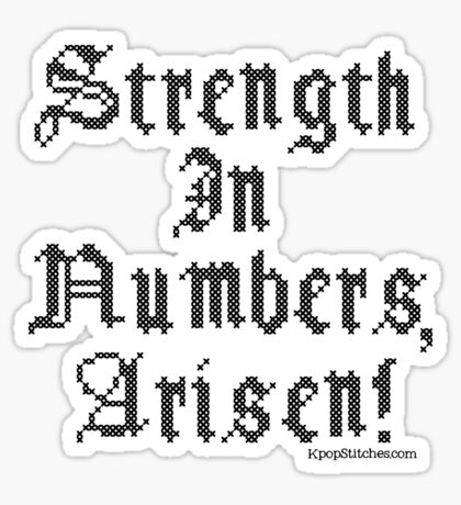 Dragon's Dogma Strength in Numbers, Arisen!  Sticker