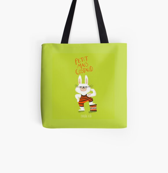 Little but strong - spinach Tote bag doublé