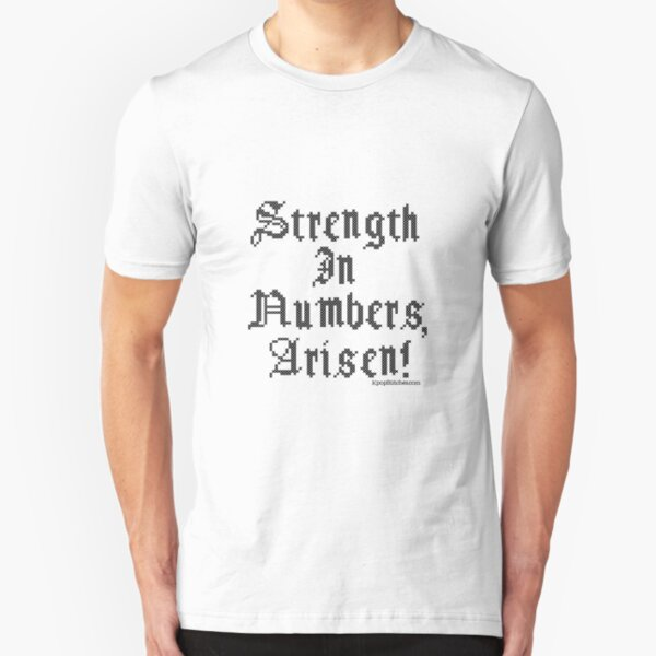 Dragon's Dogma Strength in Numbers, Arisen!  Slim Fit T-Shirt