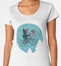 Camiseta premium para mujer Strangest friends