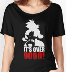 Goku and Vegeta : It's over 9000 Women's Relaxed Fit T-Shirt