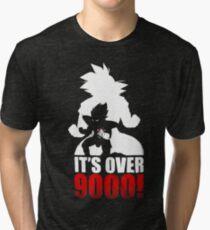 Goku and Vegeta : It's over 9000 Tri-blend T-Shirt