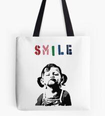 Banksy - SMILE Tote Bag