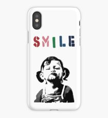 Banksy - SMILE iPhone Case