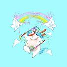 Rainbow Maker Unicorn by andremuller