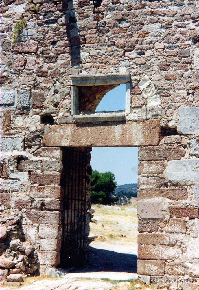 Medieval Castle of Mytilini, Lesbos Island GR (6) by Bentrouvakis