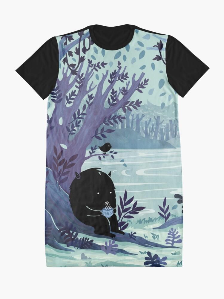 Alternative Ansicht von Ein ruhiger Ort Tee T-Shirt Kleid