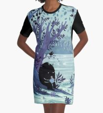 A Quiet Spot of Tea Graphic T-Shirt Dress