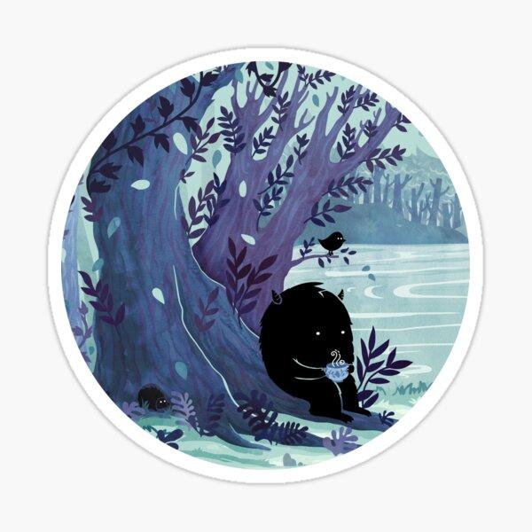 A Quiet Spot of Tea Sticker