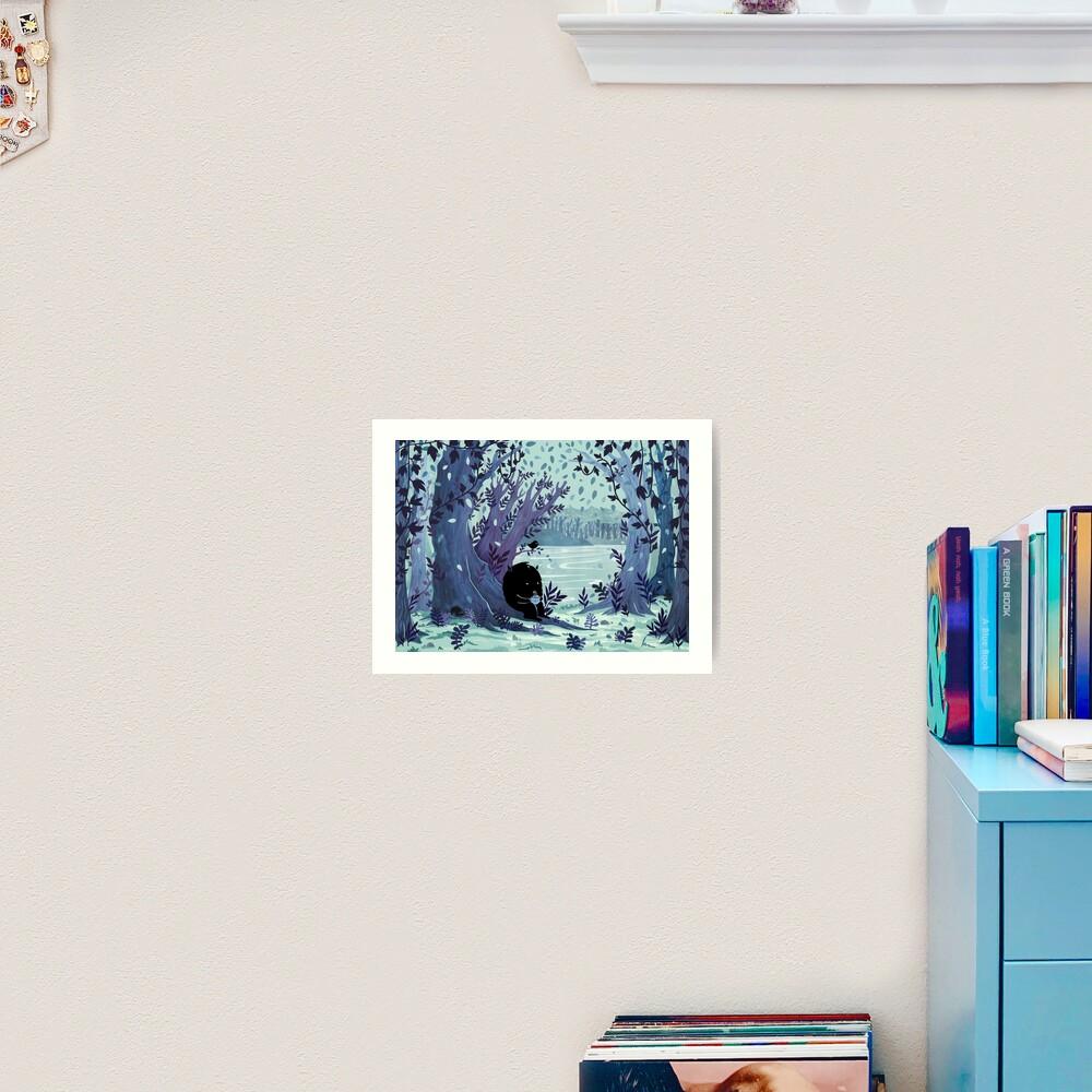 A Quiet Spot of Tea Art Print