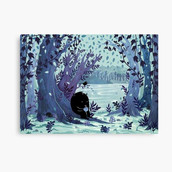 A Quiet Spot of Tea Canvas Print