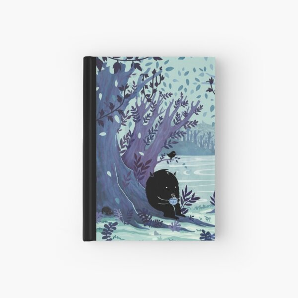 A Quiet Spot of Tea Hardcover Journal