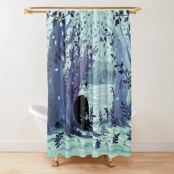 A Quiet Spot of Tea Shower Curtain