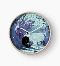 A Quiet Spot of Tea Clock