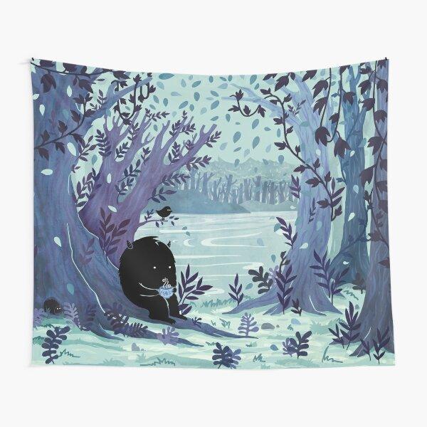 A Quiet Spot of Tea Tapestry