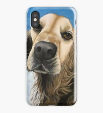 Gracie - Golden Retriever painting  iPhone Case/Skin