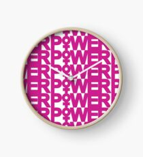 Girl Power Clock