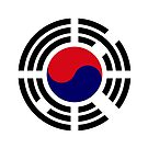 Korean Flag Patriot Series 1.0 by Carbon-Fibre Media