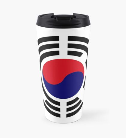 Korean Patriot Flag Series  Travel Mug
