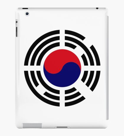 Korean Patriot Flag Series  iPad Case/Skin