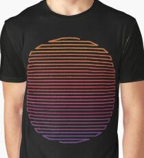 Camiseta gráfica Luz lineal