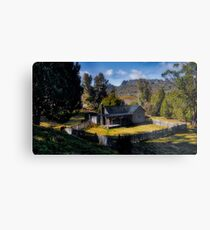 Mount Kate Hut Metal Print