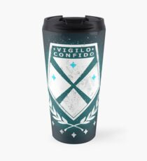 Earth's Guardians (White and Blue) Travel Mug