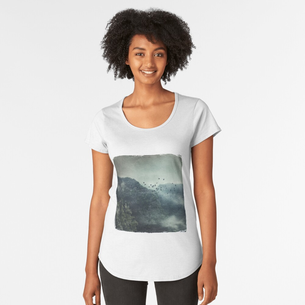 Misty Mountains Vol. X Premium Scoop T-Shirt
