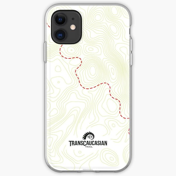 TCT Phone Cases/Skins: Topo Map iPhone Soft Case