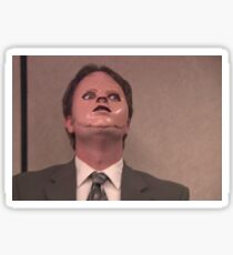 Dwight CPR Mask Sticker