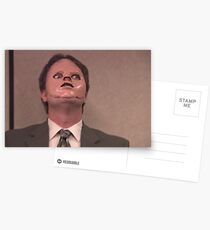Dwight CPR Mask Postcards