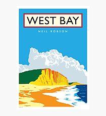 West Bay, Dorset Photographic Print