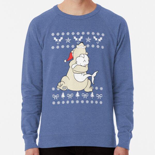 The Belugatoons Ugly Christmas Sweater 2017 Lightweight Sweatshirt