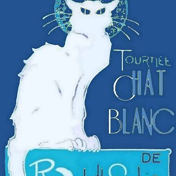 Tournee Chat Blanc Parody Le Chat Noir by taiche