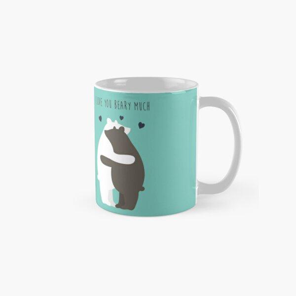 I Love You Beary Much Classic Mug